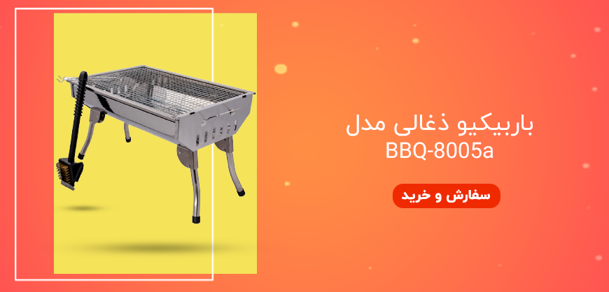 باربیکیو ذغالی مدل BBQ-8005a