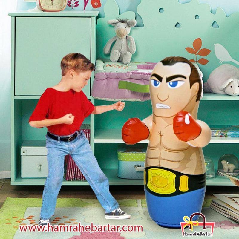 کیسه بوکس کودک مدل قهرمان