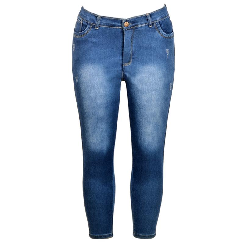 شلوار جین زنانه کد 3209 سایز 34