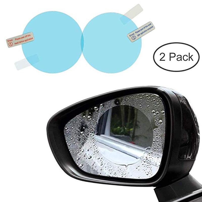 برچسب و محافظ ضد آب شیشه آینه خودرو کد 3441 بسته 2 عددی