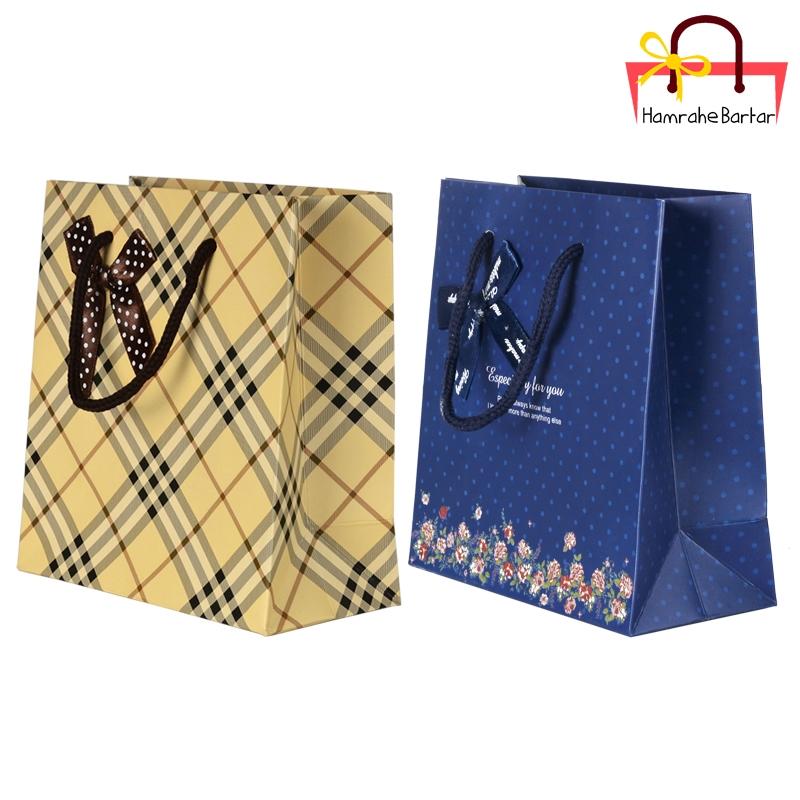 پاکت هدیه سایز 1 کد 3465 بسته 2 عددی