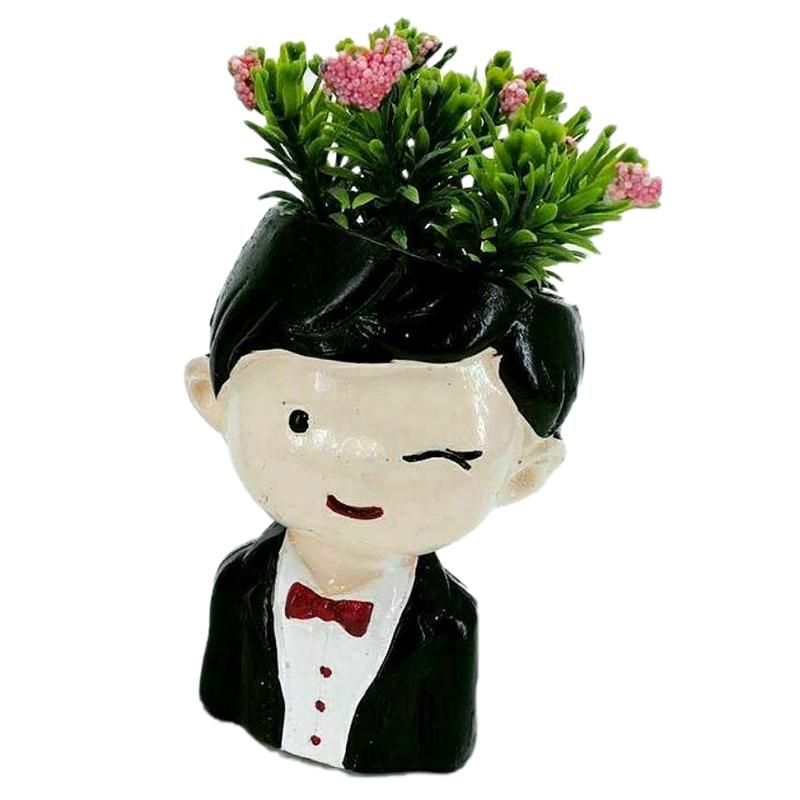گلدان طرح داماد 4421