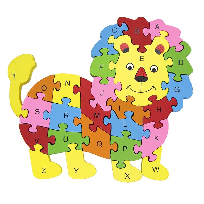 بازی آموزشی طرح اعداد و حروف انگلیسی مدل شیر