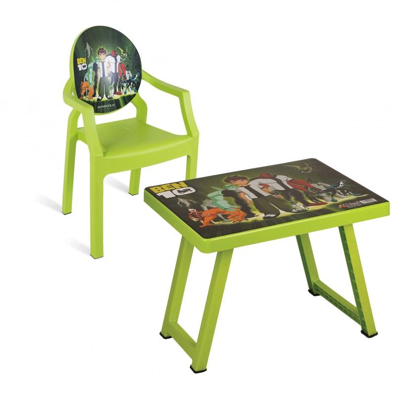 میز و صندلی کودک طرح بن 10 کد 4931