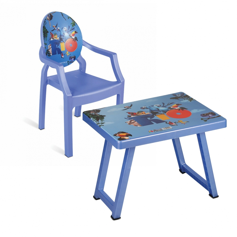 میز و صندلی کودک طرح ریو کد 4932