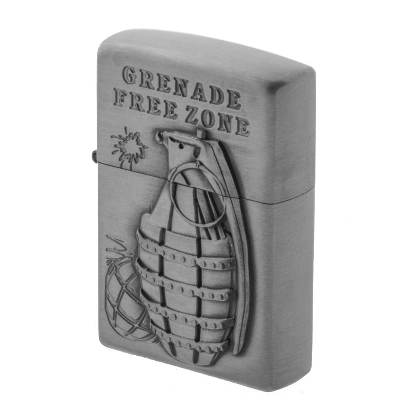 فندک زیپو مدل GRENADE FREE