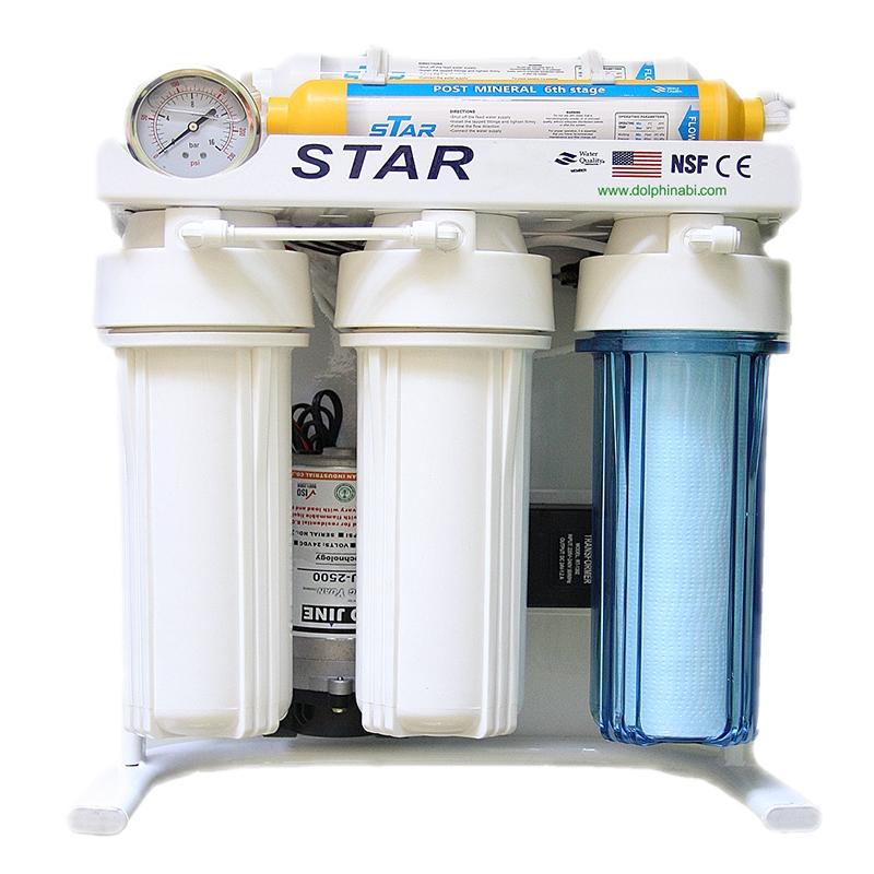دستگاه تصفیه آب خانگی شش مرحله ای اﺳﻤﺰ ﻣﻌﮑﻮس (RO STAR)