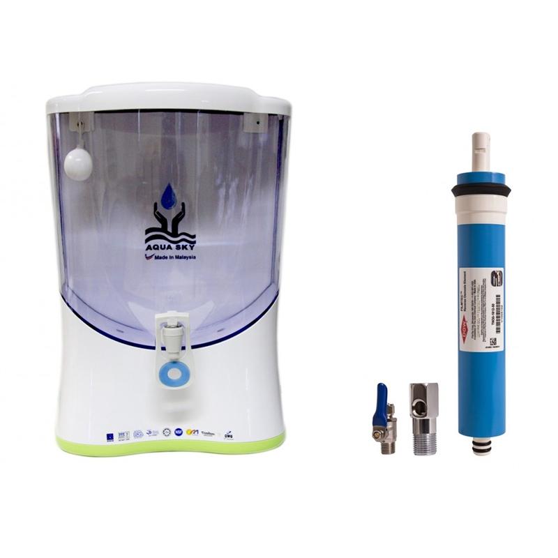 دستگاه تصفیه آب رومیزی هفت مرحله ای قلیایی (AQUA SKY)