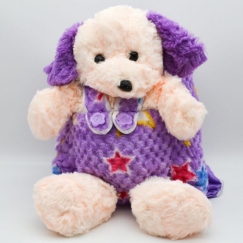 کوله پشتی عروسکی مدل سگ