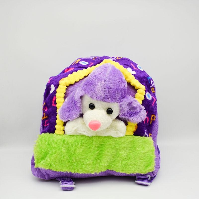 کوله پشتی عروسکی طرح گوسفند کد1664