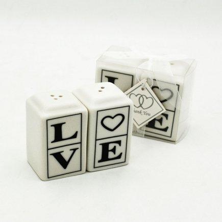 نمکدان دوتایی LOVE