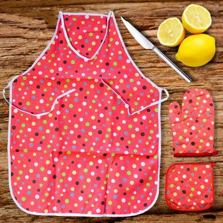 سرویس آشپزخانه 3 پارچه پات پد کد 2338