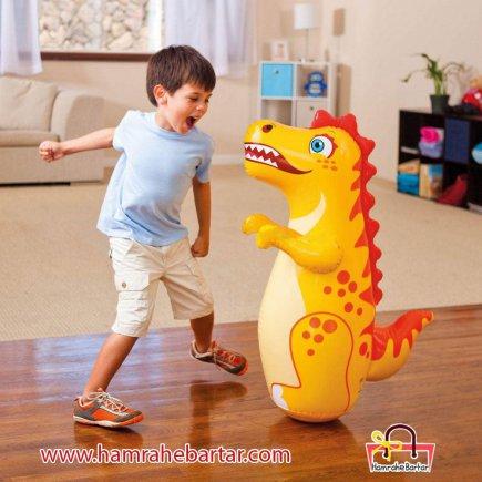 کیسه بوکس کودکان مدل دایناسور
