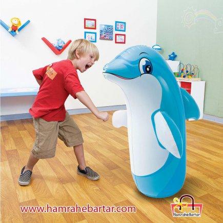 کیسه بوکس کودکان مدل دلفین