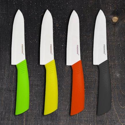 چاقو سرامیکی آشپزخانه فایندکینگ مدل 03 بسته سه عددی