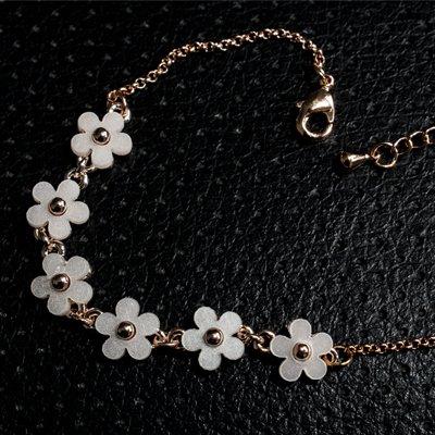 دستبند گل یاس کد 1178