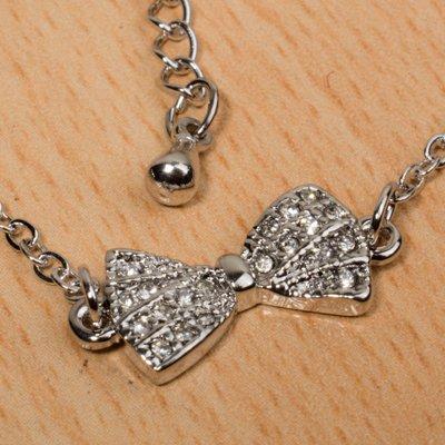 دستبند Diamond bow کد1180