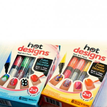 طراحی ناخن Hot Design