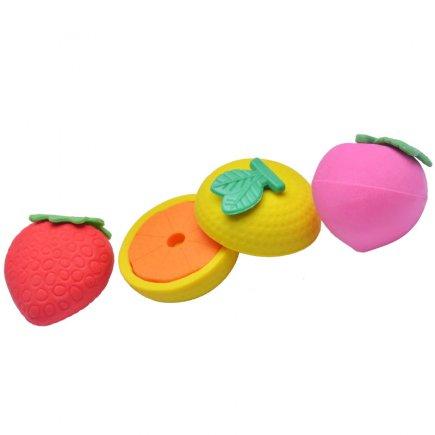 پاک کن طرح میوه کد 3099 بسته 4 عددی