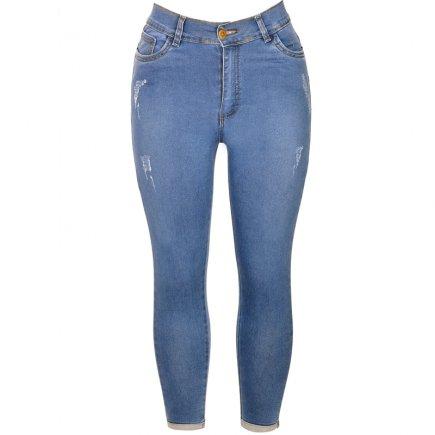 شلوار جین زنانه کد 3180 سایز 32