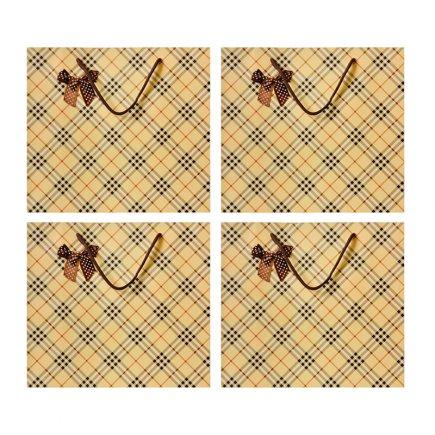 پاکت هدیه سایز 2 کد 3443 بسته 4 عددی