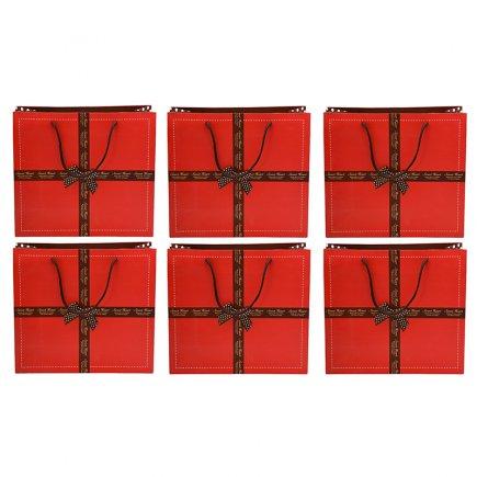 پاکت هدیه سایز 1 کد 3454 بسته 6 عددی