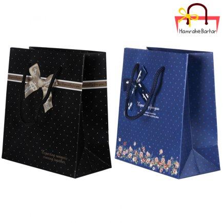 پاکت هدیه سایز 1 کد 3464 بسته 2 عددی