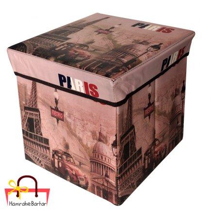 جعبه ارگانایزر طرح پاریس کد 3493
