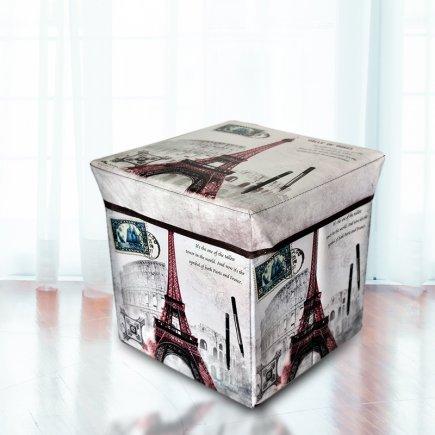 جعبه ارگانایزر طرح کارت پستال کد 3495