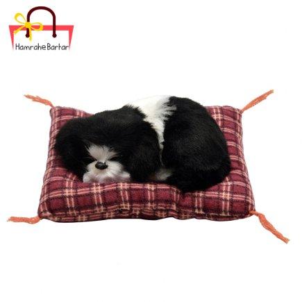عروسک مدل سگ خوابالو کد 3508 طول 14 سانتی متر