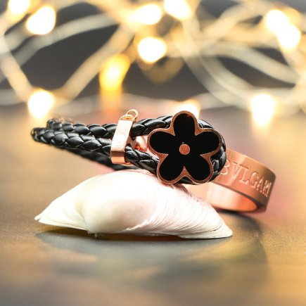 دستبند مدل گل یاس