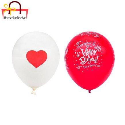 بادکنک مدل Happy birth day 15 بسته 45 عددی