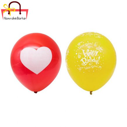 بادکنک مدل Happy birth day 11 بسته 45 عددی