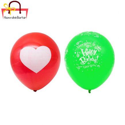 بادکنک مدل Happy birth day 8 بسته 45 عددی