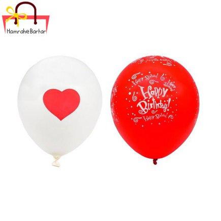 بادکنک مدل Happy birth day 3 بسته 45 عددی