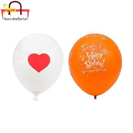 بادکنک مدل Happy birth day 2 بسته 45 عددی