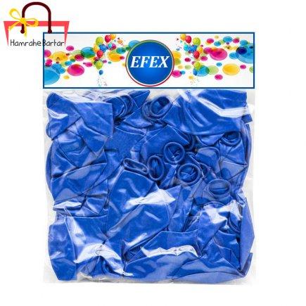 بادکنک متالایز طرح 8 EFEX بسته 40 عددی
