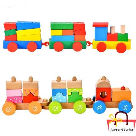 بازی آموزشی طرح قطار مدل A102 بسته دو عددی