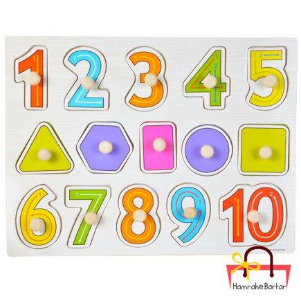 بازی آموزشی طرح اعداد انگلیسی و اشکال هندسی
