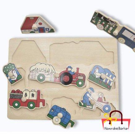 بازی آموزشی طرح ماشین آلات کشاورزی