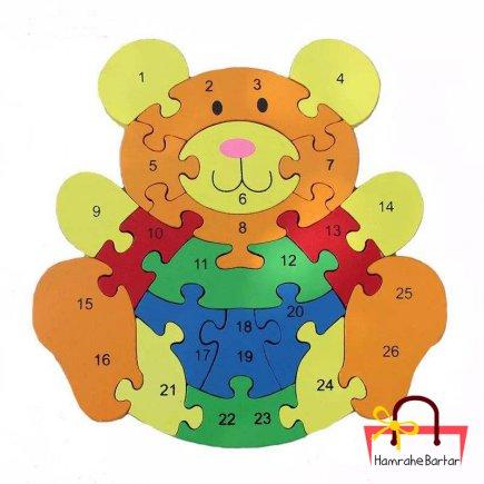 بازی آموزشی طرح اعداد  مدل خرس