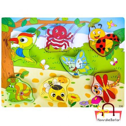 بازی آموزشی طرح حشرات کد 9208