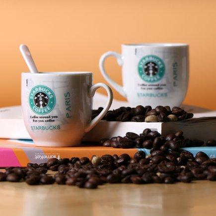 فنجان قهوه خوری استارباکس کد 073 بسته 2 عددی