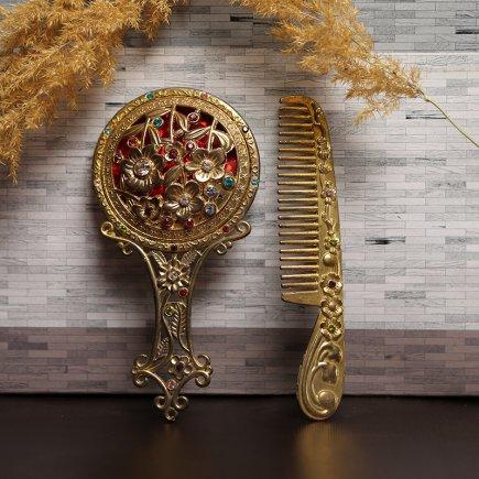 ست آینه و شانه سلطنتی کد 4260