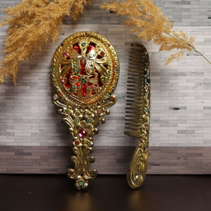 ست آینه و شانه سلطنتی کد 4263