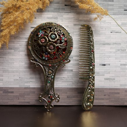 ست آینه و شانه سلطنتی کد 4264