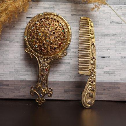 ست آینه و شانه سلطنتی کد 4267