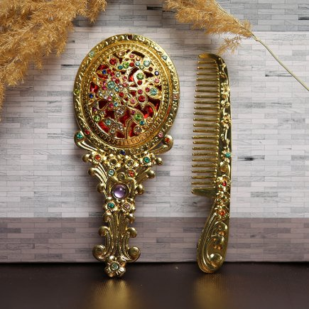 ست آینه و شانه سلطنتی کد 4270