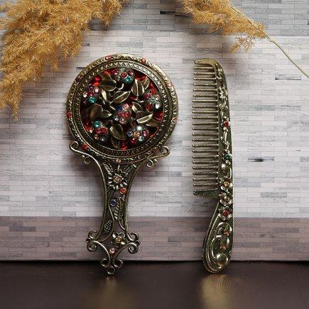 ست آینه و شانه سلطنتی کد 4272