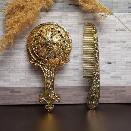 ست آینه و شانه سلطنتی کد 4273
